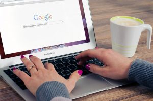 Google-Webseite