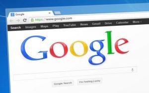 Google-Suchfenster