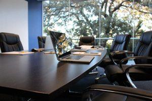 Besprechungsraum einer SEO-Firma