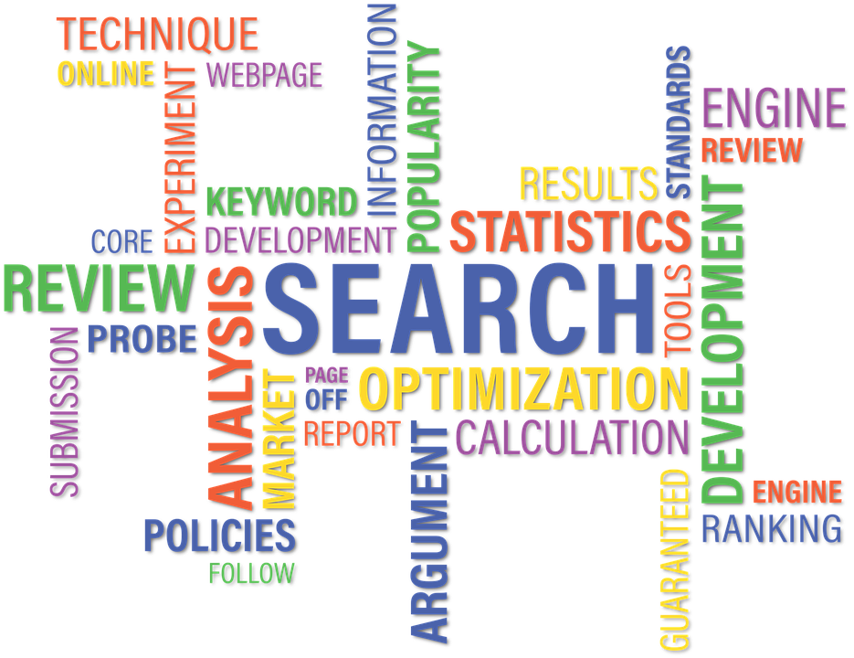 SEO Optimierung: Keyword-Cloud
