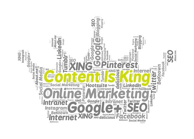 SEO-Grundregeln - Content is king